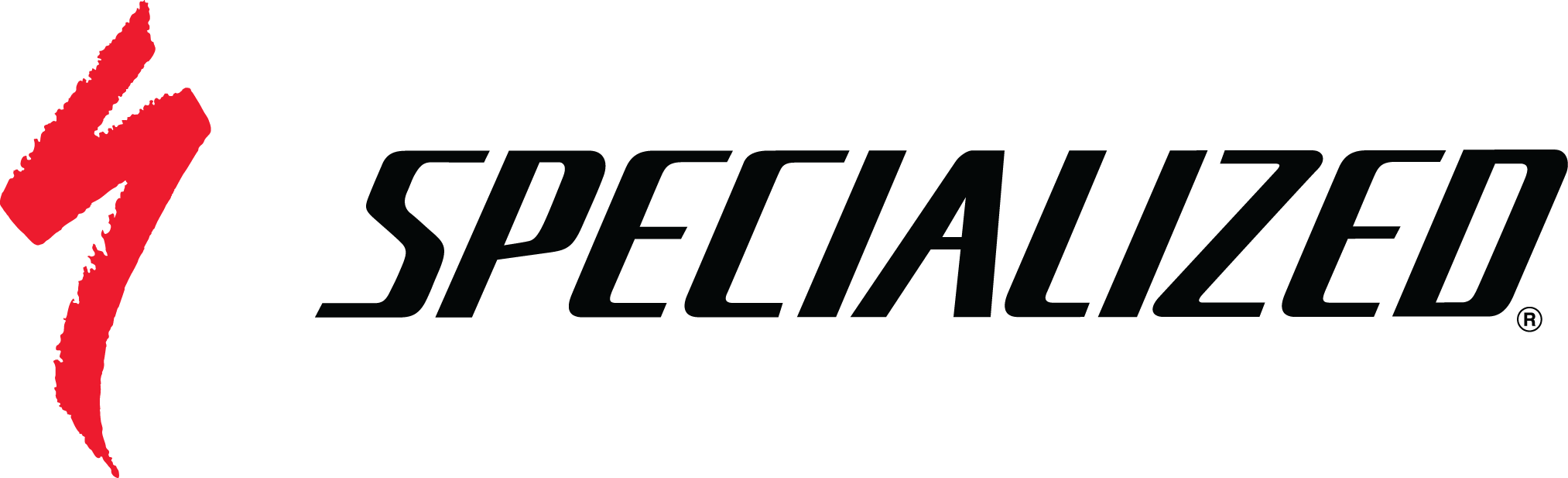 Specialized red S black logotype